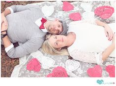 valentine's day engagement shoot, using diy props
