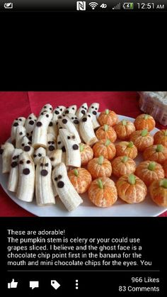 So cute for kids halloween party! Btw everyone this is a fantastic fun patter to serve with a chocolate fountain!!! Have a great fall everyone!!! Happy hauntings!!!