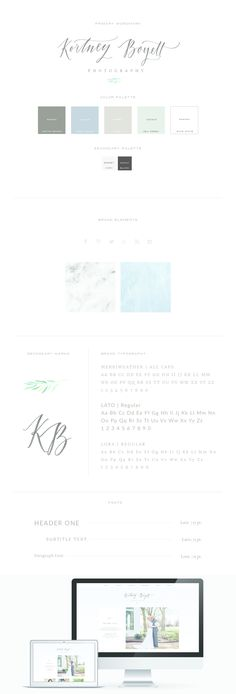 Clean and pretty, natural colors. I like everything about this site! I like the little leaf symbol, the textures, the typeface
