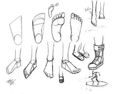 Draw Feet 2 by Diana-Huang.deviantart.com on @DeviantArt