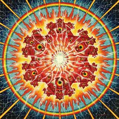 sacred mirrors alex grey - Google Search