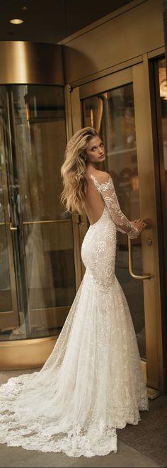 New #BERTA FW 2017 bridal collection.