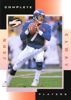 1998 John Elway, Broncos, Score Complete INSERT #2B at http://www.rcsportscards.com/broncos-1997---1999.html
