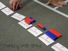 Teaching with Grace: Math Institute Day 2: Number Sense!