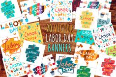 Labor Day Banners By Barsrsind Shop