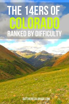 Looking to get into fourteener climbing this summer? Here's a quick rundown of standard route difficulty rankings, as ranked on 14ers.com. #OutThereColorado #Travel #Colorado #ColoradoVacation #ColoradoSprings #Denver #Breckenridge #RockyMountainNationalPark #Mountains #Adventure #ColoradoFall #ColoradoPhotography #ColoradoWildlife #Mountains #Explore #REI #optoutside #Hike #Explore #Vacation Colorado Hiking, Colorado Springs, Kit Carson, Bureau Of Land Management, Rocky Mountain National Park, Short Trip, Best Hikes, Hiking Gear, Mountains