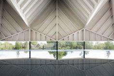 Alfriston pool by Duggan Morris Architects
