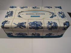 Hoes om een tissue box, Hollands