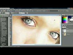 Corel Paint Shop Pro x2 Tutorial: How to change eye color