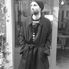 #beanie#rickowens, #t-shirt#yohjiyamamoto, #coat#yohjiyamamoto