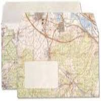 Map Outside DL Window envelopes Pack 50