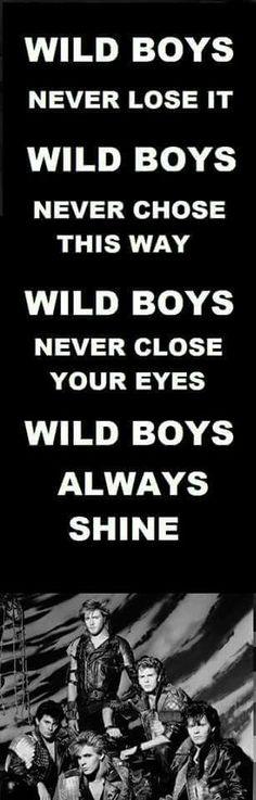 DURAN DURAN THE WILD BOYS