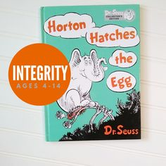 Teaching values with children's books in just 20 minutes a day. Interactive discussion questions and extension activities accompany every book. Moral values out of the best little books. Horton Hatches The Egg, Guidance Lessons, Classic Books, Little Books, Integrity, Your Child, Childrens Books, Teaching, Activities