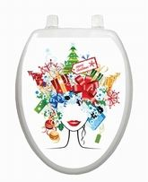 Toilet Tattoos Vinyl Resuable Toilet Seat Lid Cover at stores.ebay.com/somthinspecl