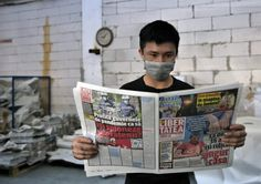 """""""Libertatea"""" a mers la cea mai mare tipografie de ziare din București care mai tipărește astăzi doar jumătate din publicațiile de acum o lună. Și astea la jumătate de tiraj."""