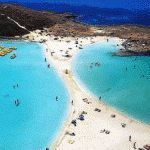 Nissi Beach, Ayia Napa, Cyprus by Ayia Napa, Places Around The World, Oh The Places You'll Go, Places To Travel, Places To Visit, Dream Vacations, Vacation Spots, Nissi Beach, Visit Cyprus
