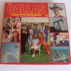 Dallas Board Game by nickandnessies, via Flickr