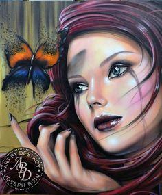 Impresionantes graffitis de Destroy - Taringa!