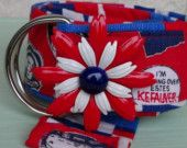 Political Boutique Flower Power Belt