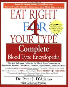 O Blood Type Diet - My Natural Family