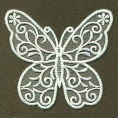 Organza Decorative Butterfly 10 - 4x4 | What's New | Machine Embroidery Designs | SWAKembroidery.com Ace Points Embroidery
