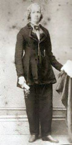 Mary Tillotson, jailed for wearing pants. I wonder if I'm related (I am a Tillotson), I'm feisty too!