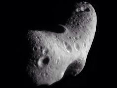 Asteroid 433 Eros from NEAR.