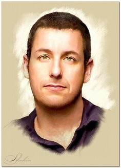 Portrait of Adam Sandler by shahin on Stars Portraits, the biggest online gallery for celebrity portraits. Adam Sandler, Celebrity Drawings, Celebrity Portraits, Pencil Portrait, Portrait Art, Art Drawings, Cartoon Drawings, Trash Art, Star Art