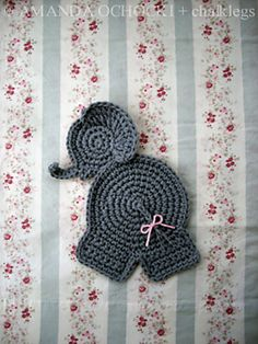 Ravelry: chalklegs' Baby Elephant £1.50 GBP about $2.46