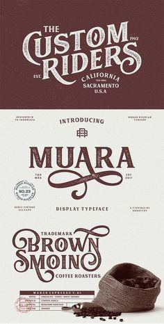 fonts font ideas font inspiration font typography font typo x logo Graphic Design Fonts, Lettering Design, Branding Design, Brand Identity Design, Design Packaging, Corporate Branding, Logo Type Design, Vector Design, Vintage Typography