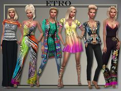 Sims 4 CC's - The Best: Clothing by All About Style