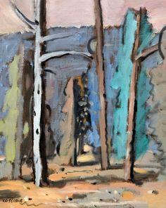 View Ciel rose et montagne bleue ou l'arbre blanc By Stanley Cosgrove; Oil on canvas; Access more artwork lots and estimated & realized auction prices on MutualArt. Ciel Rose, Oil On Canvas, Artwork, Auction, Painting, White Trees, Mountain, Blue, Work Of Art