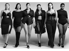 The lookbook is a response to mainstream plus-size campaigns that feature almost exclusively hourglass-shaped women on the lower end of the plus spectrum. | These Plus-Size Women Prove Fashion Is For Everyone