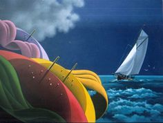 Sailing - Claude Theberge Paintings