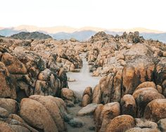 Alabama Hills. Edited with @priime by morganphillips