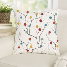Found it at Wayfair - Martucci Cotton Duck Pillow Cover