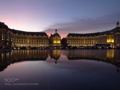 Reflection Miroir d'eau Bordeaux by marjoriebaud #fadighanemmd