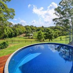 Want to install a plunge pool at your home or farmhouse? Our manufacturers deliver quality concrete plunge pools across Sunshine Coast, Brisbane, Gold Coast & Sydney. Stock Pools, Stock Tank Pool, Pool Spa, Small Backyard Pools, Backyard Landscaping, Small Pools, Dipping Pool, Swimming Pool House, Swimming Ponds