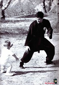 ♡♥Bruce Lee with Brandon♥♡