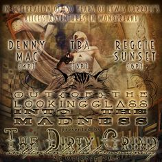 https://flic.kr/p/AeMQN6 | Out of the Looking  Glass|Into the Madness | TONIGHT @ THE DIRTY GRIND INDEPENDENT ARTIST COMMUNITY! Follow the arrow to drop down the rabbit hole: maps.secondlife.com/secondlife/Fender/80/65/284 In celebration of the 150th anniversary of a little girl's journey  through childhood's fear and magic, Out of the Looking  Glass|Into the Madness, will be joining The Dirty Grind's 3rd  Annual Festival of Samhain!
