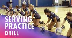 Serving practice drill with Dave Rubio