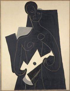 Pablo Picasso Femme à la guitare, 1924 huile sur toile