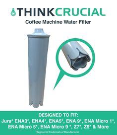 Jura Clearyl Blue Water Filters Fit Coffee Machines ENA3 ENA4 ENA5 J6 J9 J95, Part # 67879