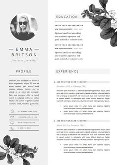 You want yours to leave a lasting impression. Here are our favorite professional templates for any job role to download...