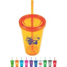 16 ounce acrylic Tumblers from www.schoolspiritstore.com
