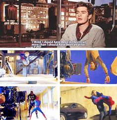 Andrew Garfield = Spiderman - Gwen Stacy + Emma Stone. | 17 Actors Who Are Basically Their Characters IRL