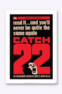 Bookish Designs Catch 22 Poster