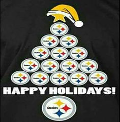 MERRY CHRISTMAS Pittsburgh Steelers Pictures, Steelers Images, Pitsburgh Steelers, Pittsburgh Steelers Wallpaper, Here We Go Steelers, Pittsburgh Steelers Football, Pittsburgh Sports, Steelers Stuff, Steelers Blanket
