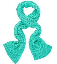Criss Cross Knit Scarf #sportsgirl