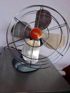 cool vintage fan.